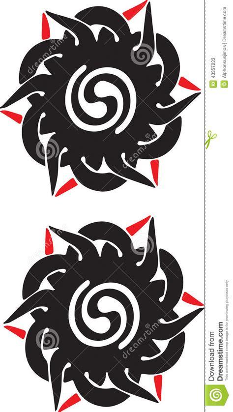 tato simbol dayak iban tribal tattoo borneo stock vector image of ornament