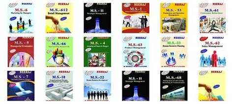 Ignou Mba Books by Ignou Distance Mba Books Guides And Study Materials