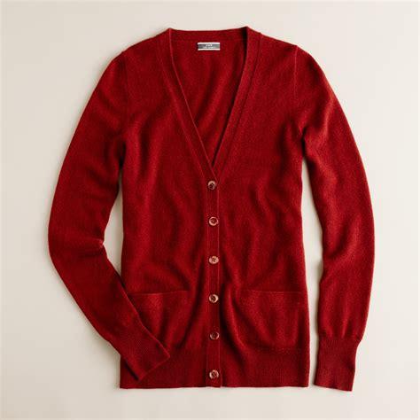 Jaket Sweater Distro Vans Inz14 lyst j crew boyfriend cardigan in