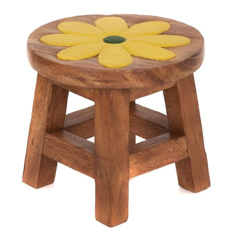 Childs Stool by Childs Stool Yellow Flower Lifestyle Arts And Crafts