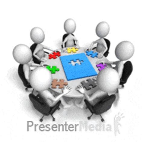 animated pieces puzzle tool kit a powerpoint template from