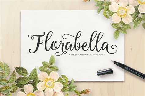 Handmade Script Font - florabella free handmade script font navy themes