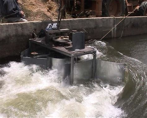water turbine local