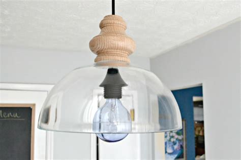 diy glass pendant light fixture knockoff ugly duckling diy glass pendant light fixture knockoff ugly duckling