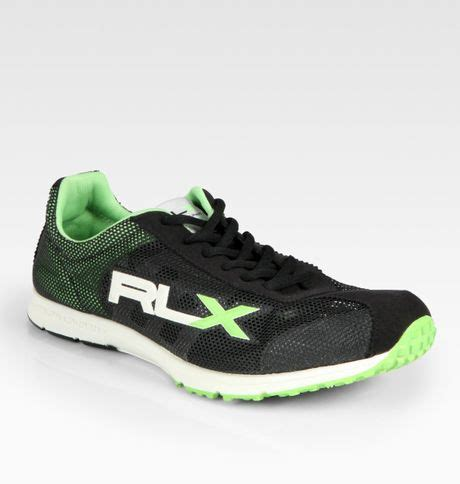 ralph running shoes rlx ralph frixton sneakers in black for green