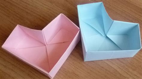 Make Origami Shaped Box - make origami shaped box comot
