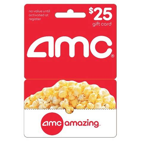 Amc Gift Card Deals - 25 amc gift card 18 99 free shipping at bjs wholesale slickdeals net
