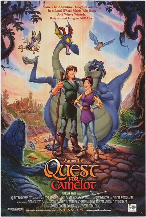 libro dragon apparent travels in film review quest for camelot hubpages