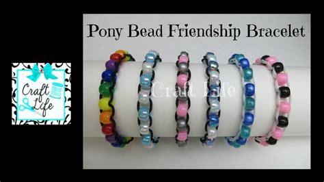 best 20 pony bead bracelets ideas on