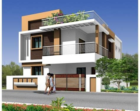 modern duplex house search facade house