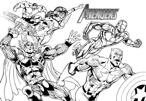 marvel adventures coloring pages dessin 195 colorier avengers hulk