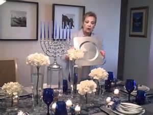 Elegant Table Settings beautiful hanukkah table setting youtube