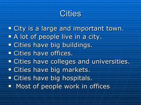 Living In The City Essay by Essay On City Vs
