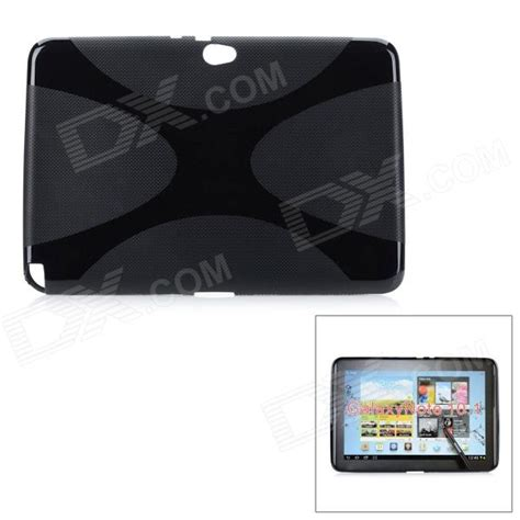 Softcase Black Id Samsung Note 1 protective tpu soft back for samsung galaxy note 10 1 n8000 black free shipping