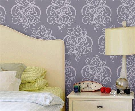 stencil pareti da letto stencil fai da te pareti come eseguire stencil con il
