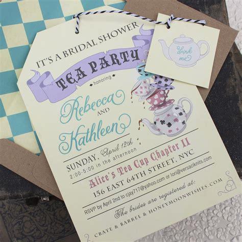 in tea bridal shower invitations in tea bridal shower invitation