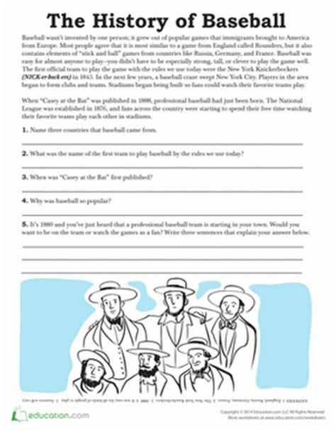 free printable math baseball worksheets worksheets education com
