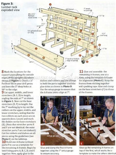 Lumber and Sheet Storage Rack Plans ? WoodArchivist
