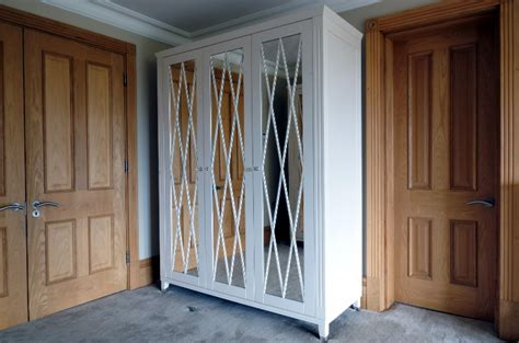 Mirrored Free Standing Wardrobes fitted wardrobes dressing rooms oak tables oak bespoke