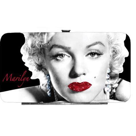 marilyn monroe vinyl marilyn monroe glitter lips vinyl hinge wallet