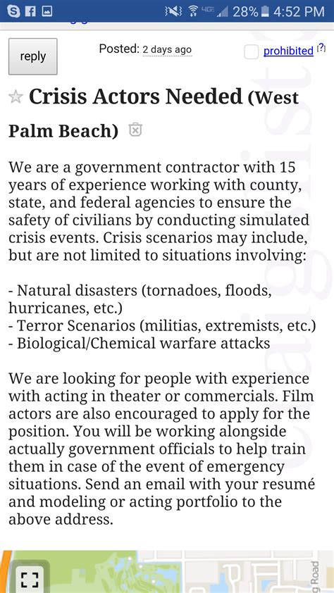 false flag alert for florida and colorado the federal government is hiring crisis actors
