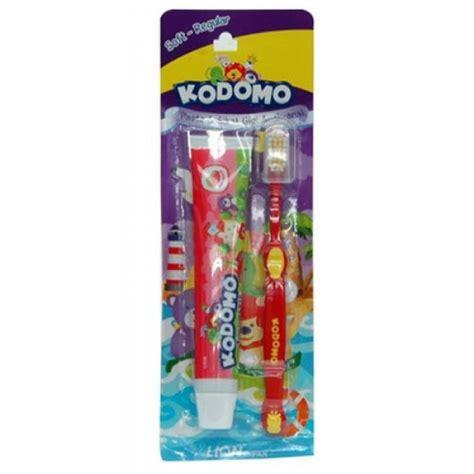 Pasta Gigi Kodomo kodomo toothbrush 2in1 regular