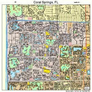 coral florida map coral springs florida map 1214400