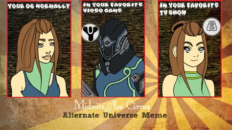 Alternate Universe Meme - mac meme alternate universe by acheronne on deviantart