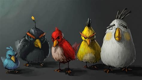 Angry Birds Pictures Hd Wallpaper Of