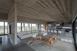Kitchen Ceiling Designs Concrete House A Nest For Tough Guys Designed By Luciano