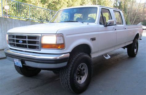 how things work cars 1994 ford f350 security system 1994 ford f 350 xlt crew cab lifted 4x4 pickup 4 door 7 5l