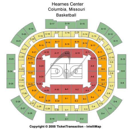 the seat columbia missouri hearnes center tickets in columbia missouri hearnes