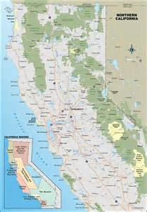 map of n california coast northern california in the fall moon travel guides