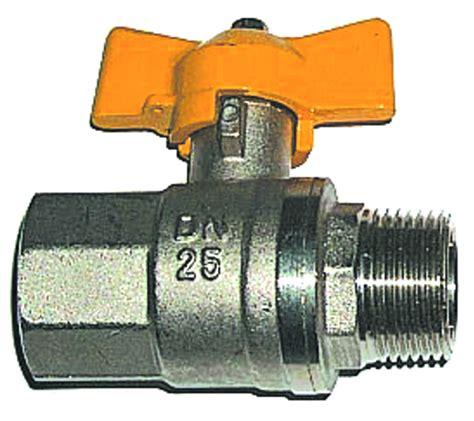 rubinetto gas rubinetto a sfera in ottone per gas ff e mf con chiusura a