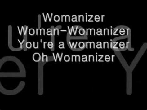 womanizer testo work lyrics doovi
