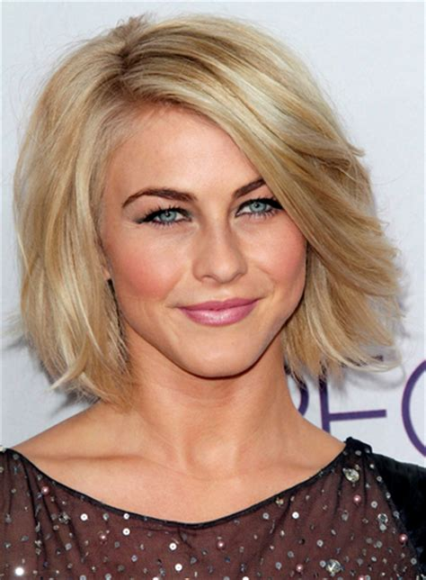 julianne hough shoulder length bob haircut for straight short straight blonde hairstyles beauty riot