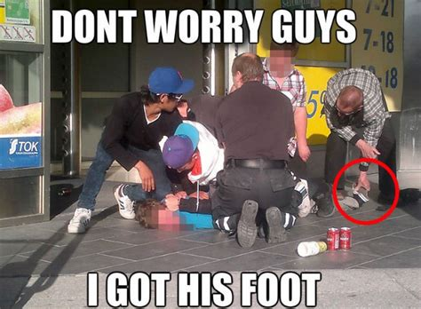 Funny Memes About Guys - don t worry guys i got his foot weknowmemes