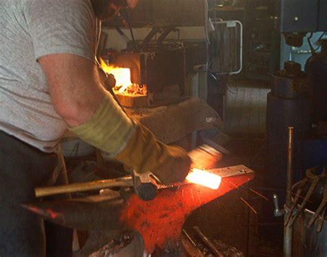 pattern welding flux the creation of a pattern welded blade