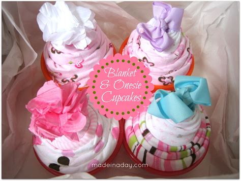 Baby Shower Onesie Cupcakes by Baby Blanket Onesie Cupcakes Made In A Day
