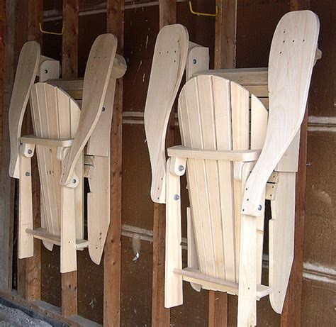 folding adirondack chair standard size plan downloadable