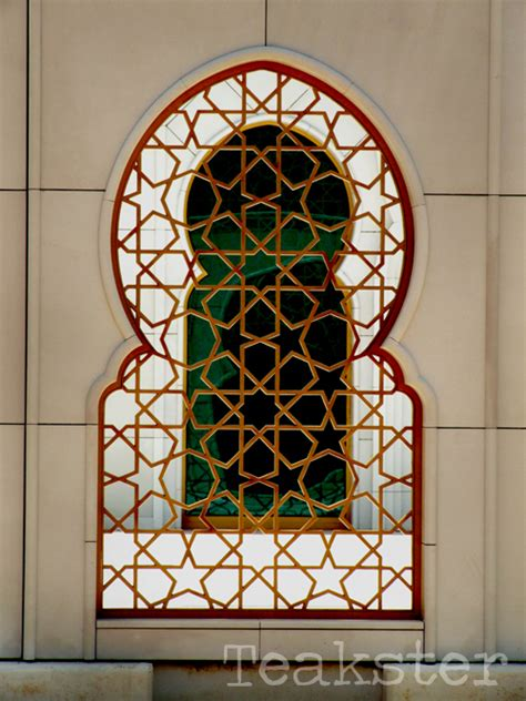 masjid window design shaykh zayd mosque window ii by teakster on deviantart