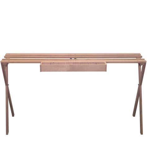 latch hook rug frame edmunds floor standing rug hooking frame 30 h x 45 l x 17 w at joann