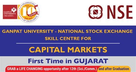 Mba Finance In Gujarat by Nse National Stock Exchange Of India Ltd