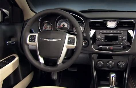 2011 Chrysler 200 Interior by Chrysler Sebring Replacement