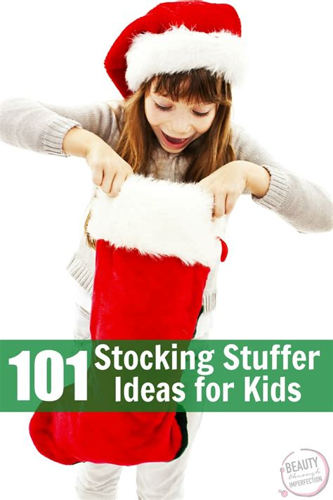 stuffer ideas for stuffers for preschoolers through imperfection
