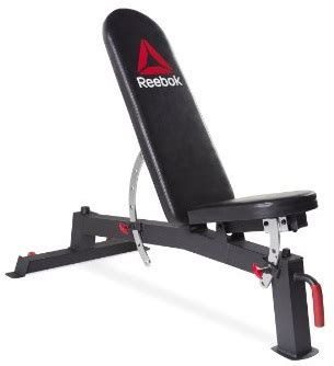 reebok bench reebok deluxe utility training bench