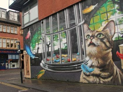 photo   glasgows  street art conde nast