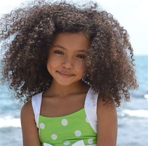skull cut baby curls for black hair cute curly fro at the beach keep perfectly moisturized
