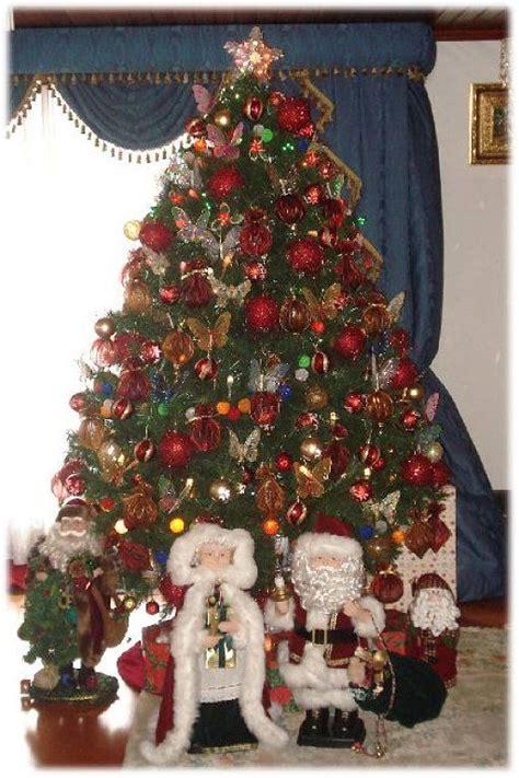 decoracion de arboles navidenos naturales decoracion
