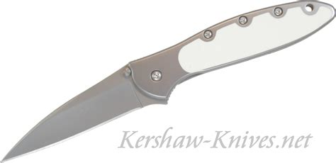 leek knife kershaw leek knife with glow in the handle overlay
